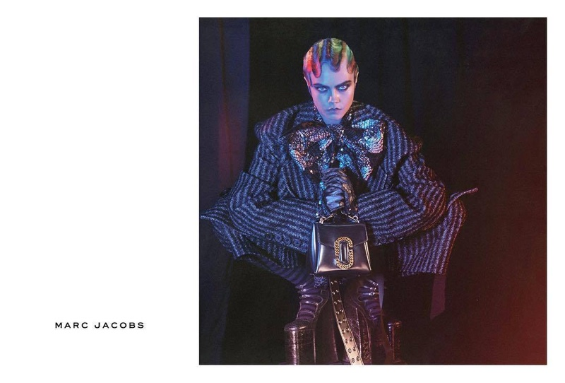 Cara Delevingne stars in Marc Jacobs' fall-winter 2016 campaign