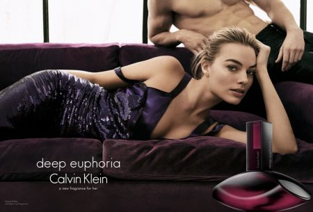 Margot Robbie Revealed as the Face of Calvin Klein's 'Deep Euphoria' Fragrance