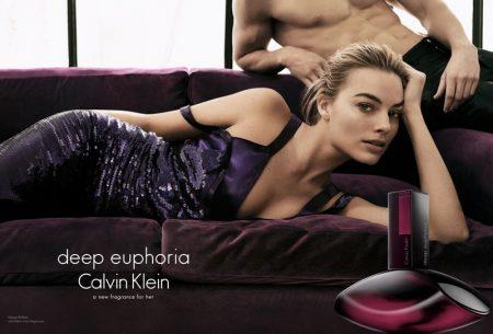 Margot Robbie Revealed as the Face of Calvin Klein's 'Deep Euphoria' Fragrance