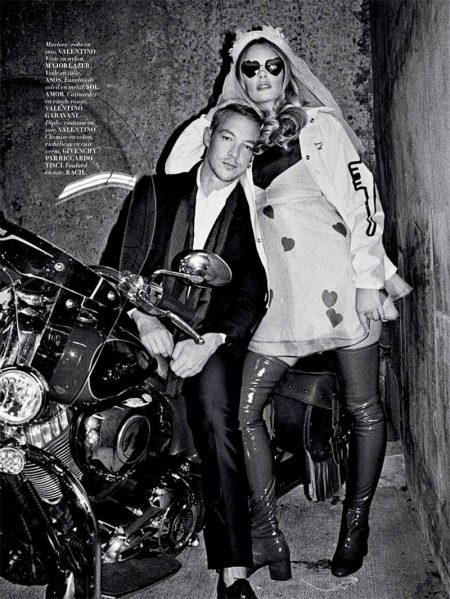 Marloes Horst Has a Las Vegas Wedding in L'Officiel Paris