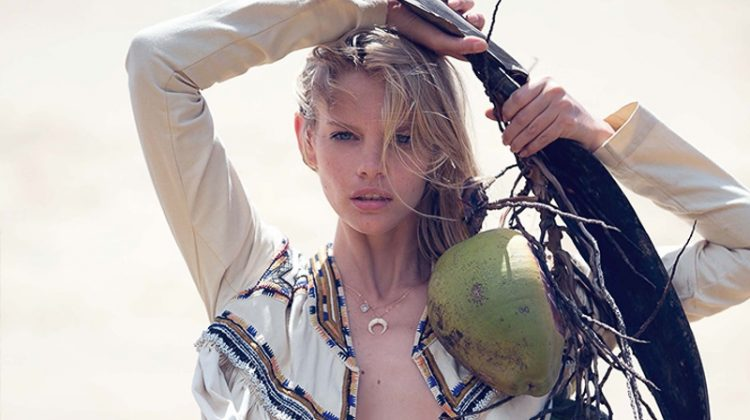 Marloes Horst Models the Summer's Hottest Styles for Marie Claire Italy