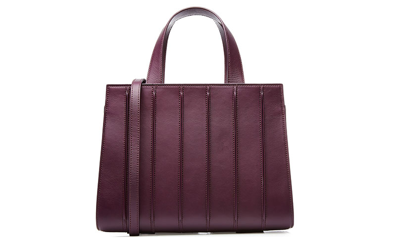 Max Mara Whitney Leather Tote Bag