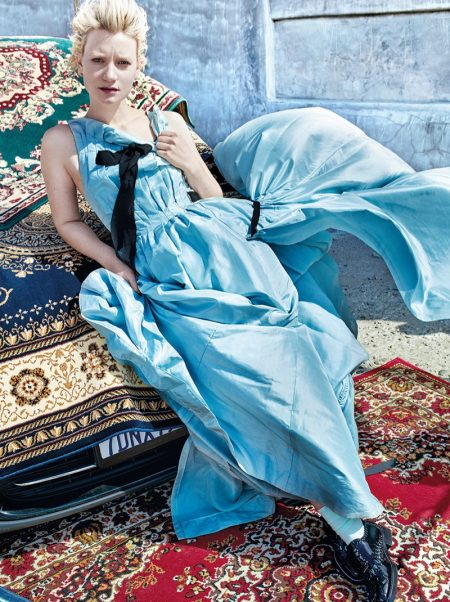 Mia Wasikowska Poses in Dreamy Dresses for C Magazine