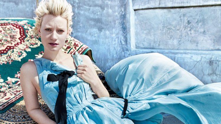 Mia Wasikowska Poses in Dreamy Dresses for C Magazine