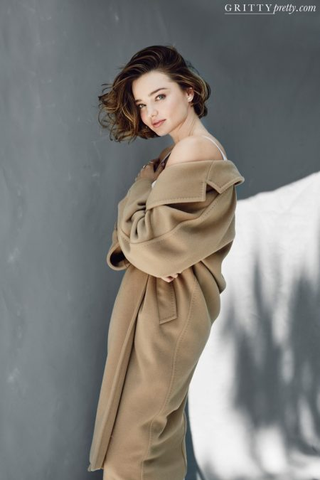 Miranda Kerr Wears Cozy Looks for Gritty Pretty Magazine