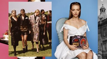 Amanda Seyfriend Joins High Society in Miu Miu's Fall 2016 Campaign