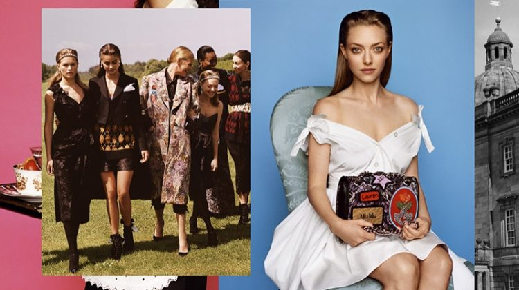 Amanda Seyfried Joins High Society in Miu Miu's Fall 2016 Campaign