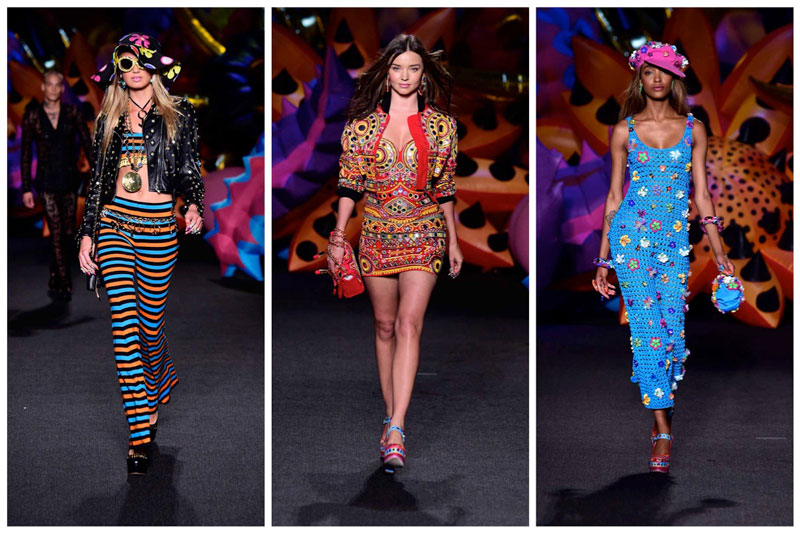 Moschino Goes Psychedelic for Resort 2017 Show in LA