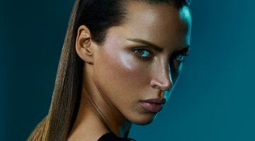 Noemie Lenoir Looks Sleek & Sultry in Balmain Hair Couture Campaign