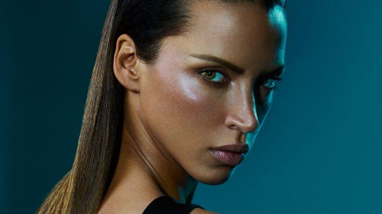 Noemie Lenoir Looks Sleek & Sultry in Balmain Hair Couture Campaign