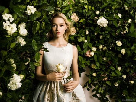 Exclusive: Sam Romberger by Zhang Jingna in 'Flower Girl'