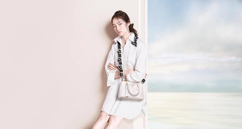 Fei Fei Sun stars in Prada's pre-fall 2016 campaign