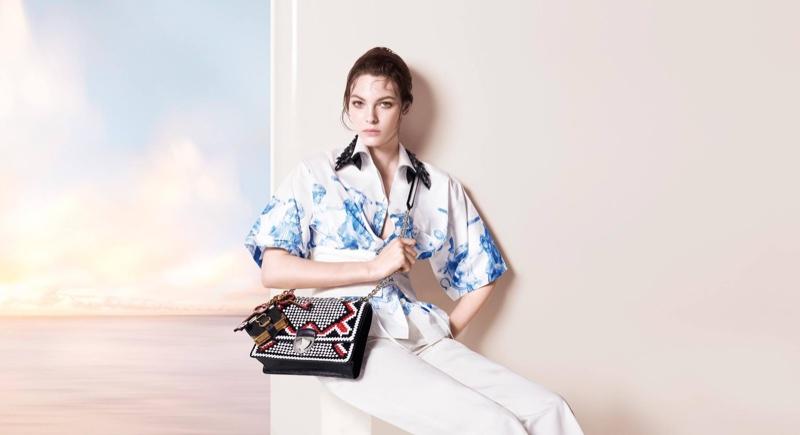 Lorena Maraschi stars in Prada's pre-fall 2016 campaign