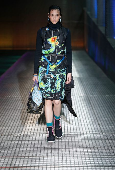Prada Makes Clothes for Travel with Resort 2017 Collection