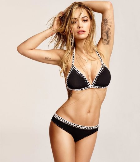 Rita Ora Flaunts Her Bikini Body in Tezeniz Campaign