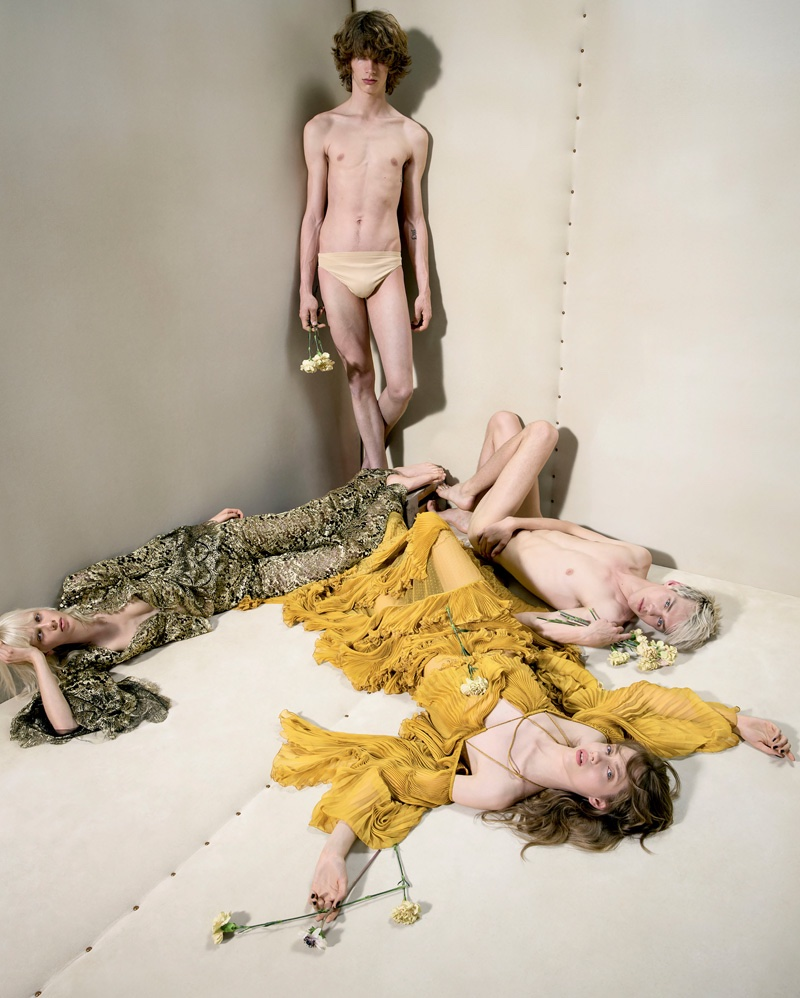 Roberto Cavalli's fall-winter 2016 campaign embraces free spirits
