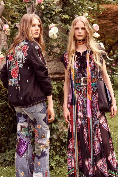 Roberto Cavalli's Resort 2017 Collection is a Bohemian Dream