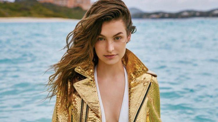 Roosmarijn de Kok Takes on Beach Fashion for The Daily Summer