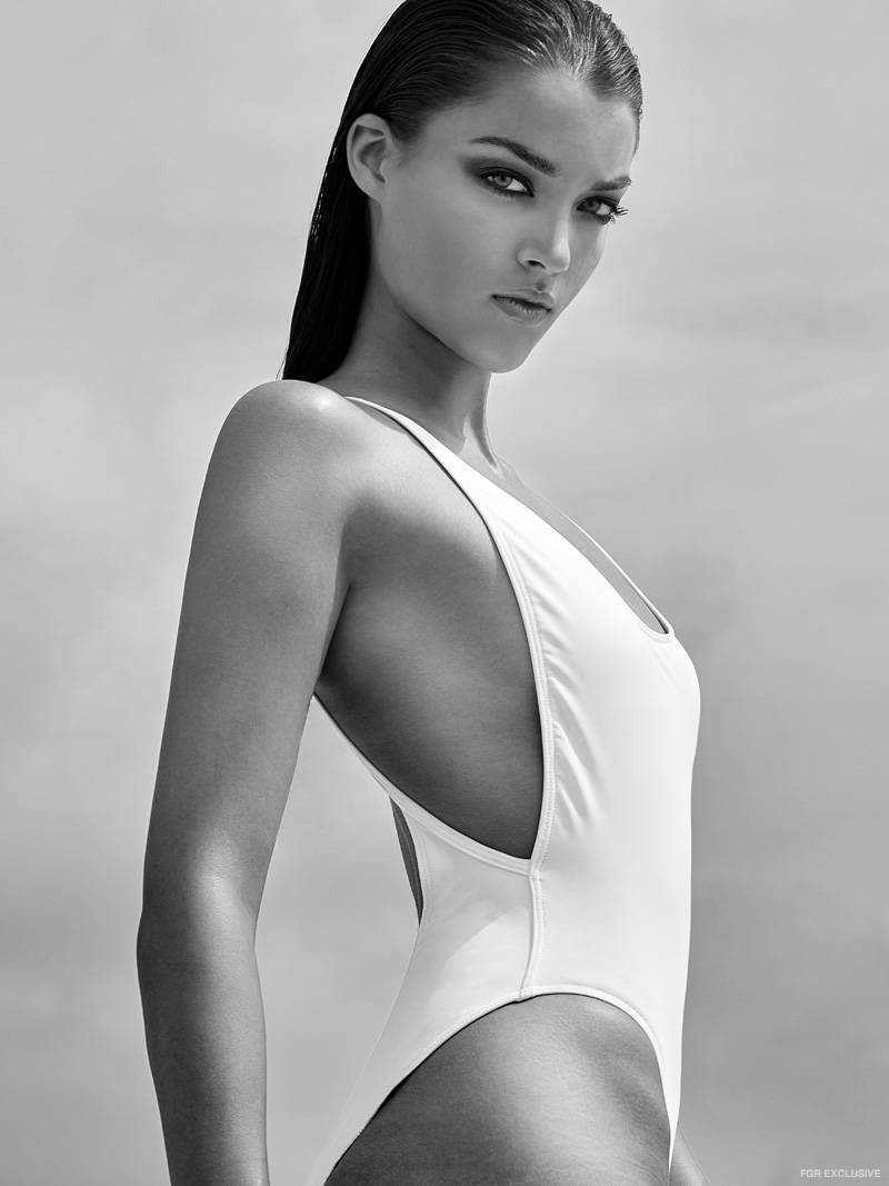Swimsuit American Apparel, Bracelet Kate Spade