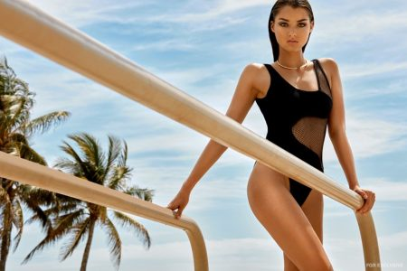 Exclusive: Sarah Simmons by Alvaro Goveia in 'A Place in the Sun'