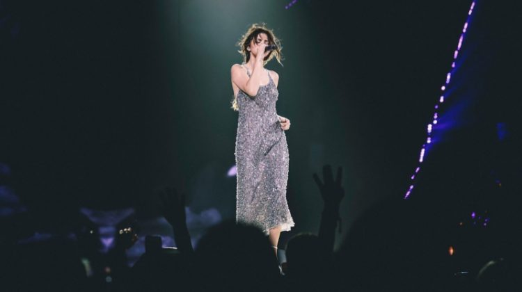 Selena Gomez's 'Revival' Tour Dress Makes the Case for Sequins All Year Long