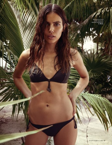 Shlomit Malka is Ready for Surf Season in Marie Claire Spain