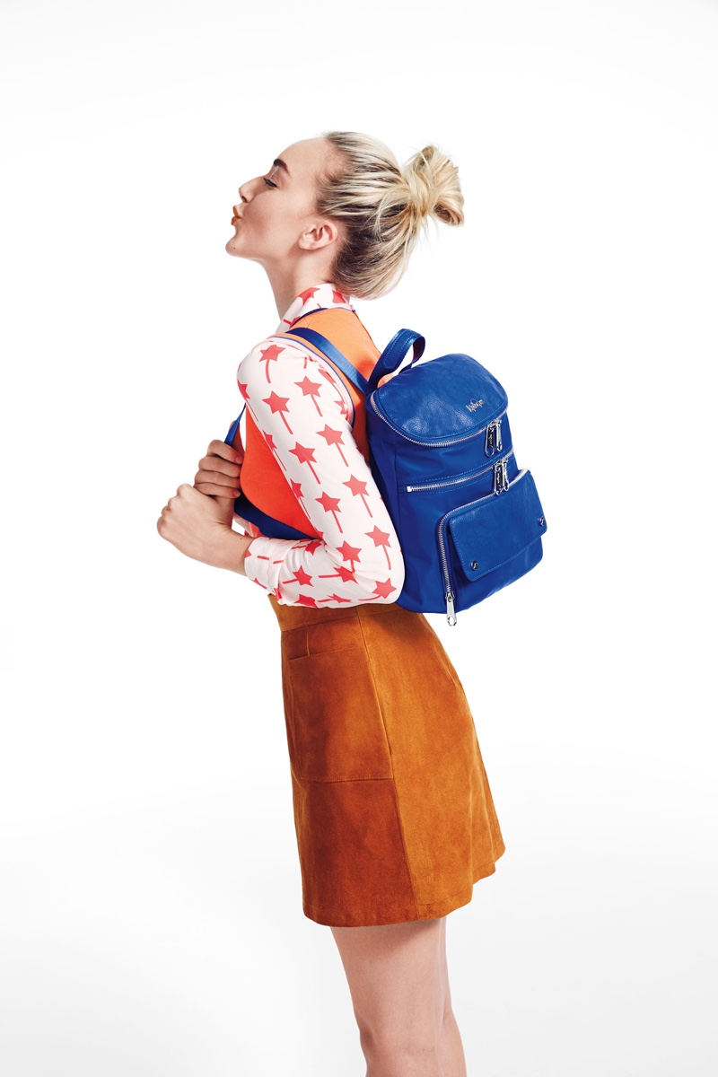 Daisy Clementine Smith stars in Kipling's 2016 Back-to-School campaign