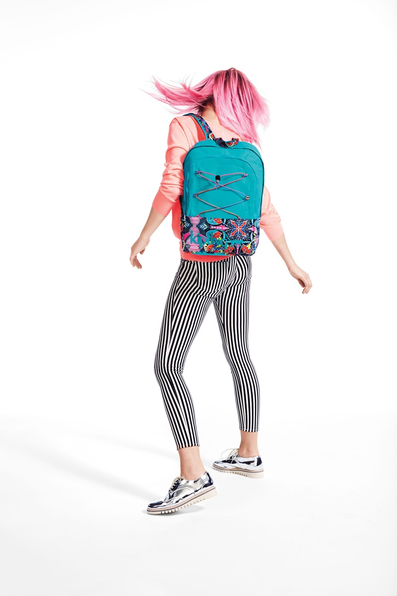 An image from Kipling's back-to-school 2016 campaign