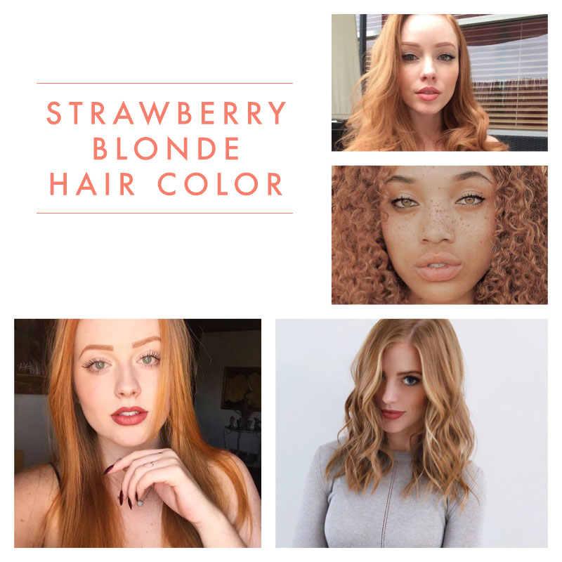 Get hair color ideas from these strawberry blonde beauties