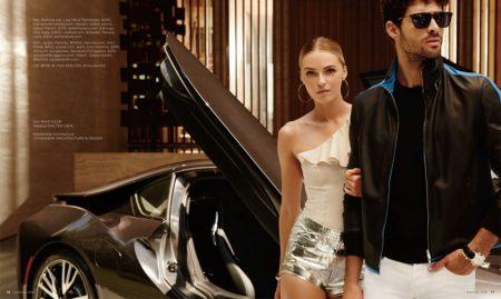 Valentina Zelyaeva Heats Up Summer Style for Luxury Magazine