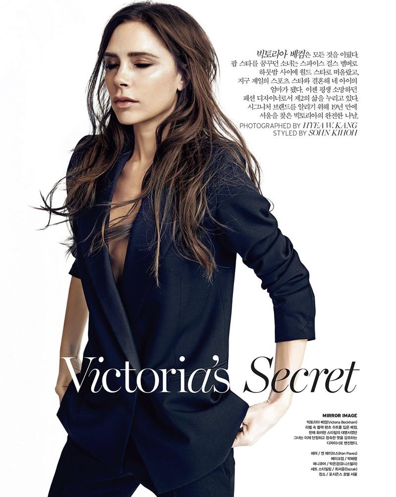 ... victoria beckham poses in the studio for this shoot victoria beckham