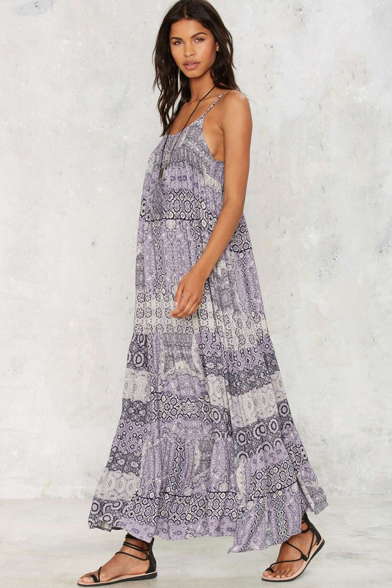 Nasty Gal Woman of Heart and Mind Maxi Dress