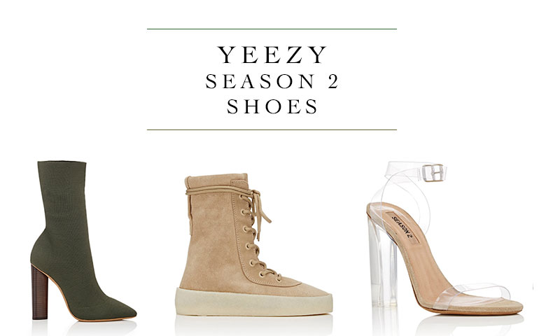 New arrivals: Yeezy Season 2 available now at Barney's