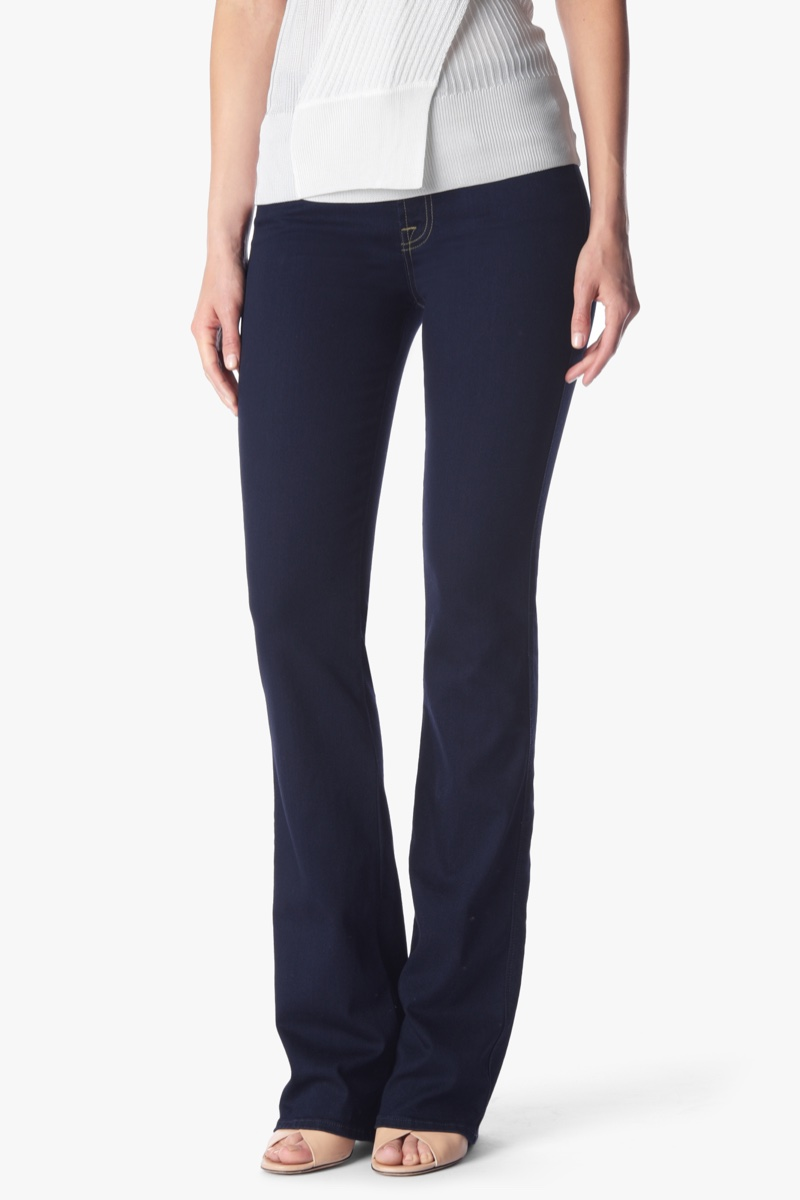7 for All Mankind B(air) Denim Kimmie Bootcut in Rinsed Indigo