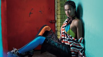 Adriana Lima Gets Into the Olympic Spirit for Vogue Brazil