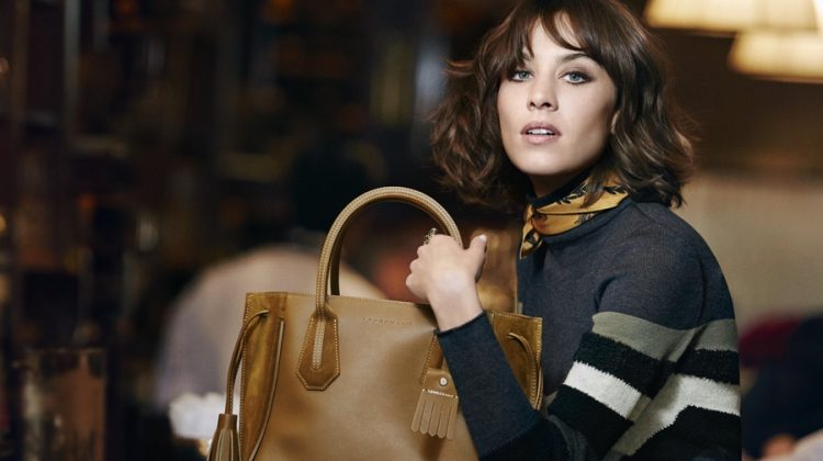 Alexa Chung is a Style Knockout for Longchamp's Fall Campaign