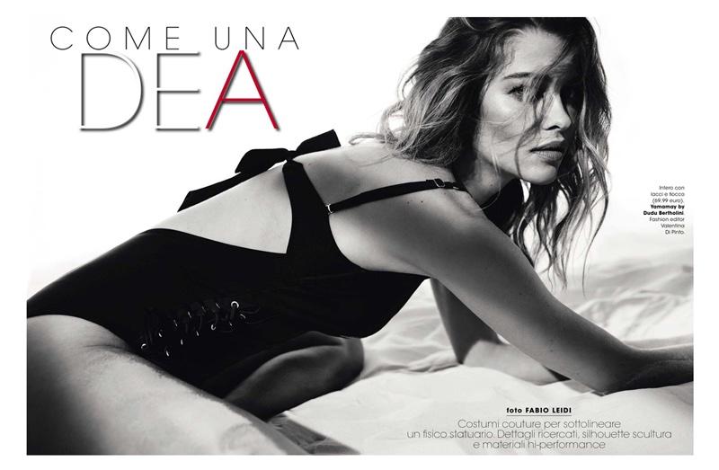 Ana Beatriz Barros stars in Glamour Italy's July issue