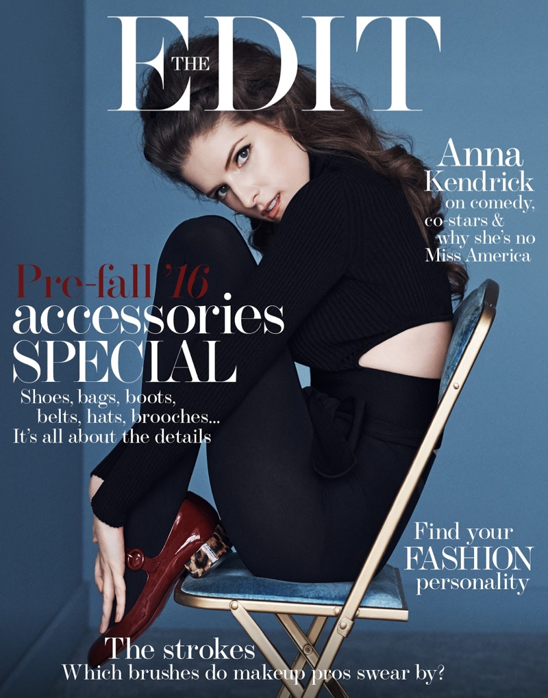 Anna Kendrick on The Edit June 30th, 2016 Cover