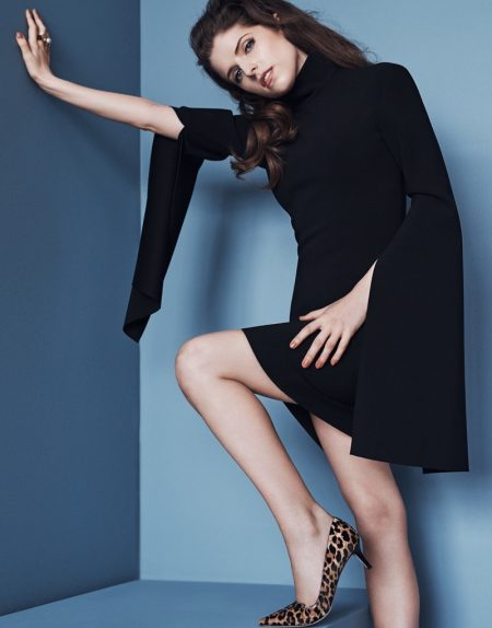 Anna Kendrick Goes Full On Glamour-puss in The Edit