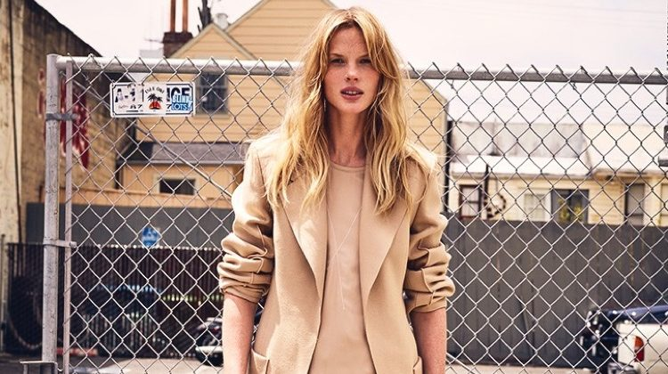 Anne Vyalitsyna Wears the Pre-Fall Collections for Marie Claire Italia
