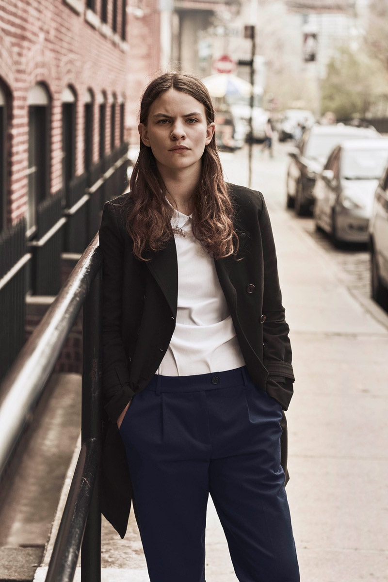Eliot Sumner stars in Armani Exchange's fall-winter 2016 campaign