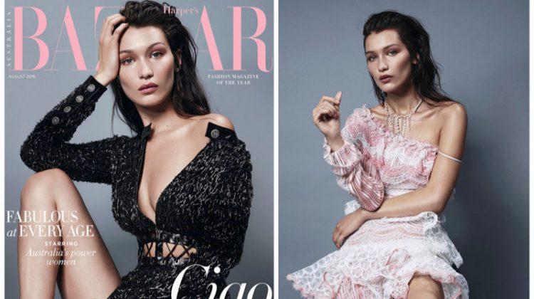 Bella Hadid Wows in Harper's Bazaar Australia Cover Story