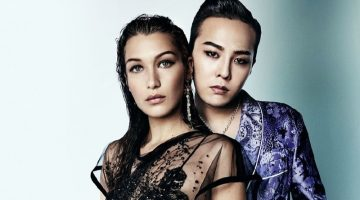 Bella Hadid Poses with G-Dragon for Vogue China Me