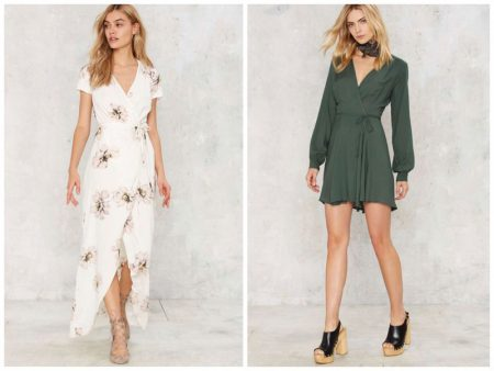 All Tied Up: 9 Dreamy Wrap Dresses