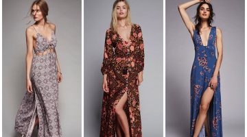 Boho Chic: 10 Dreamy Printed Maxi Dresses