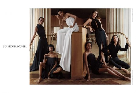 Brandon Maxwell's Debut Campaign is Pure Elegance