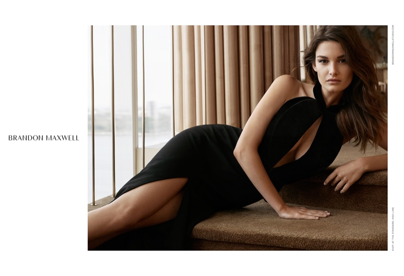 Ophelie Guillermand stars in Brandon Maxwell's fall-winter 2016 campaign