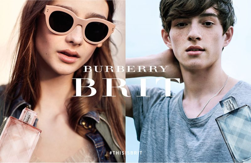 Burberry unveils Burberry Brit fragrance campaign photographed by Brooklyn Beckham