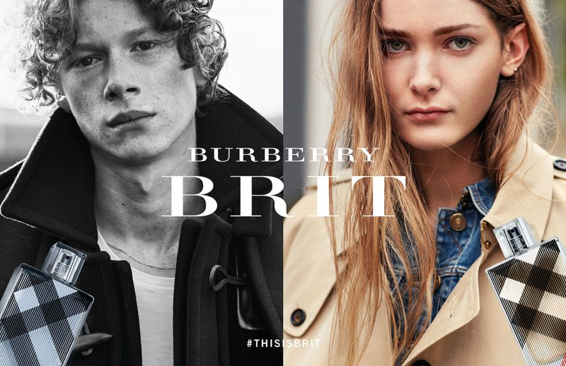 Burberry Brit 2016 advertising campaign