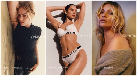 Kate Moss, Bella Hadid, Margot Robbie + More Star in Calvin Klein's Latest Ads